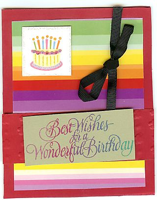 How to make birthday cards for kids Good homemade birthday cards